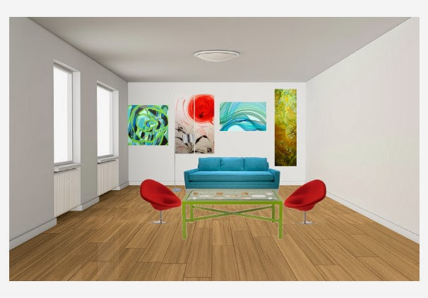 Split Complementary Color Scheme Room split complementary color scheme interior design drapery