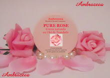 Crema naturala pentru ten PURE ROSE cu ulei de Trandafir