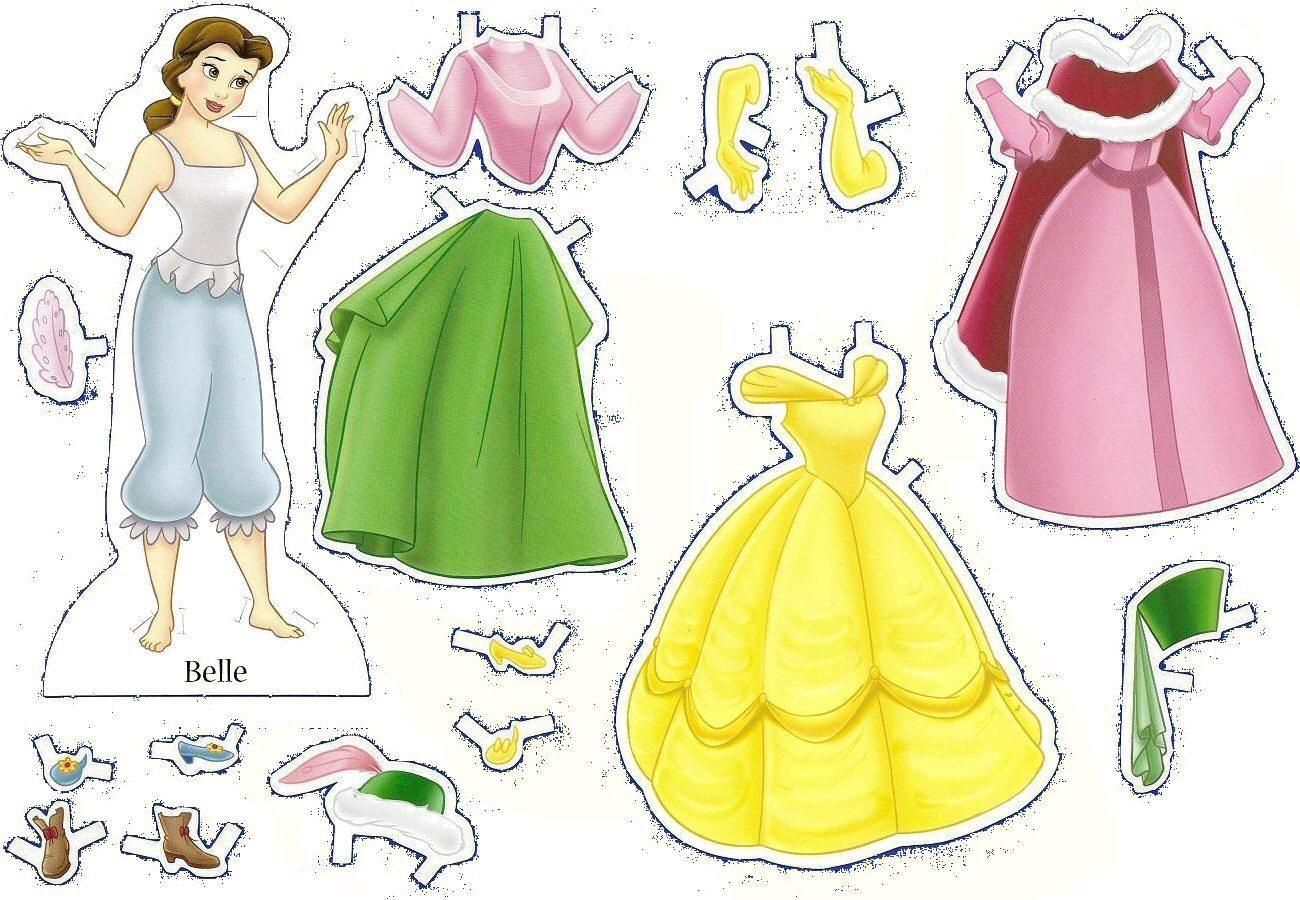 Vestir Uma Boneca Bonecas Para Vestir Papel