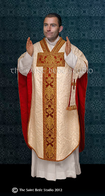 Saint Philip Neri chasuble