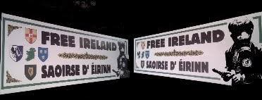 "Pancarta Free Ireland ""Petrol Bomber"" - 38€"