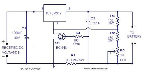 P making a simple smart automatic battery charger circuit universal battery charger circuit publicscrutiny Gallery