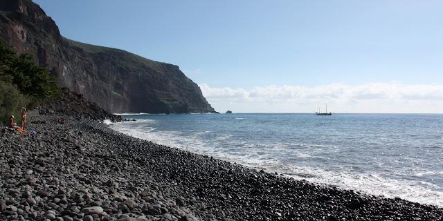 Nude beach Argaga (La Gomera)