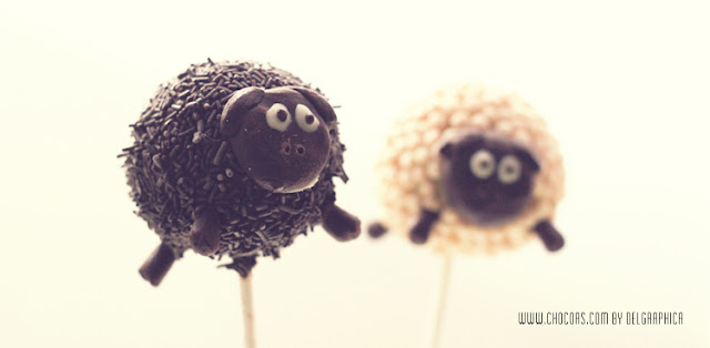 cakepops ovejitas