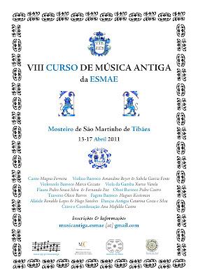 VIII curso de música antiga da ESMAE