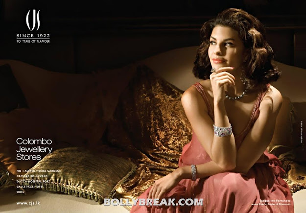 Jacqueline Fernandez Colombo Jewellery Store Short Hair Photoshoot