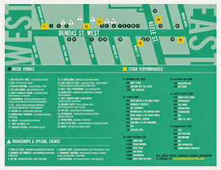 The Junction Music Festival Map and Schedule September 21, 2013