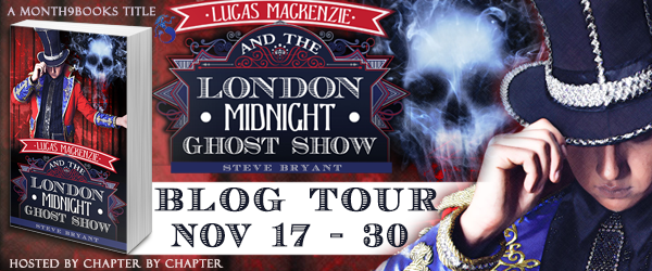 Lucas Mackenzie and the London Midnight Ghost Show Blog Tour