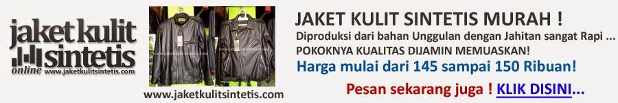 jaket kulit sintetis murah