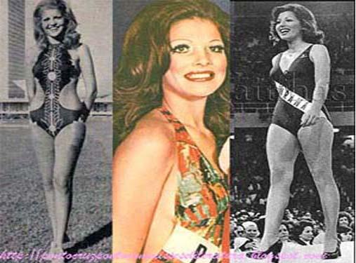 ADLA NAGLI - MISS PARANÁ 1973; CILMARA CAMARGO - MISS PARANÁ 1974; MARIA ALVES - MISS PARANÁ 1975