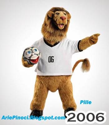 Pille Maskot Piala Dunia 2006 Jerman