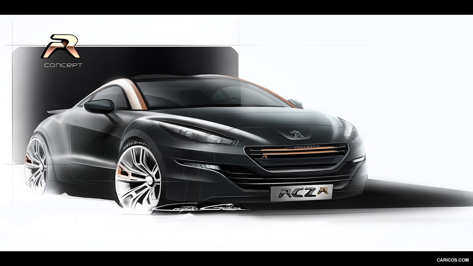 peugeot rcz r concept ototasarim com. Black Bedroom Furniture Sets. Home Design Ideas