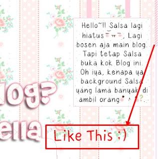 scrollbar blog comel, scrollbar comel