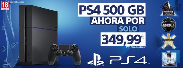 Sony anuncia la reducción de precio de PS4 1