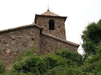 Campanar i façana de llevant de Sant Feliu de Rodors