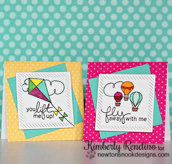 Summer Lunchbox Notes by Kimberly Rendino | Stamps by Newton's Nook Designs