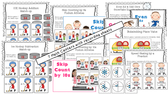 http://www.teacherspayteachers.com/Product/Winter-Olympics-Math-Literacy-Centers-14-Common-Core-Aligned-Centers-1042757