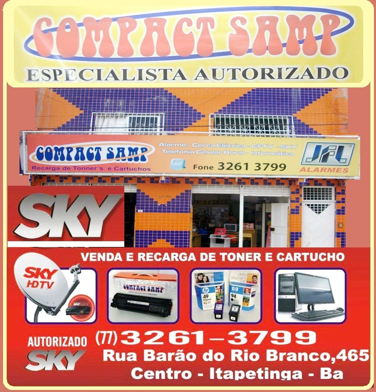 COMPACT SAMP - REDE AUTORIZADA SKY