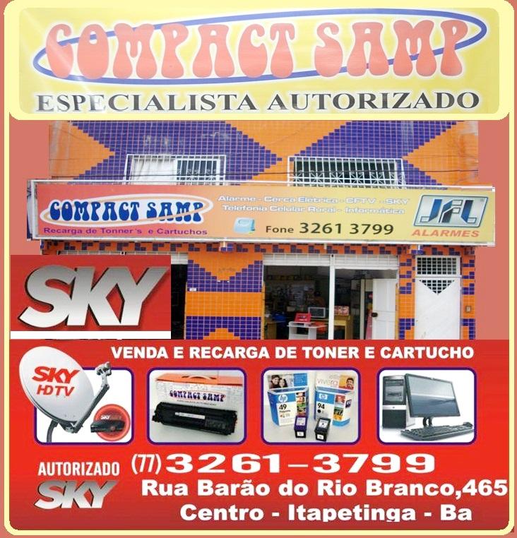 COMPACT SAMP - REDE AUTORIZADA SKY