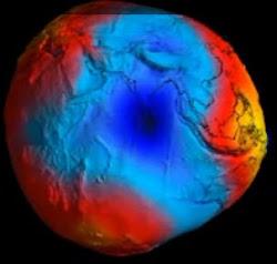Mapa da gravidade da Terra 5