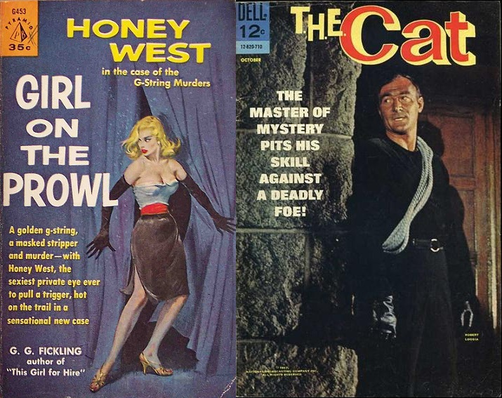 Cat and the honey west