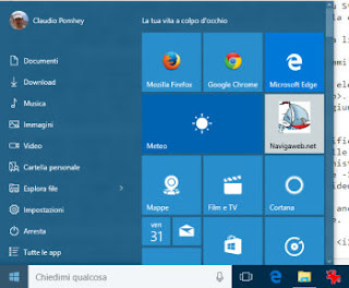 menu start windows 10