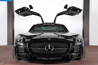 Mercedes slr amg front view - صور مرسيدس slr amg من الخارج
