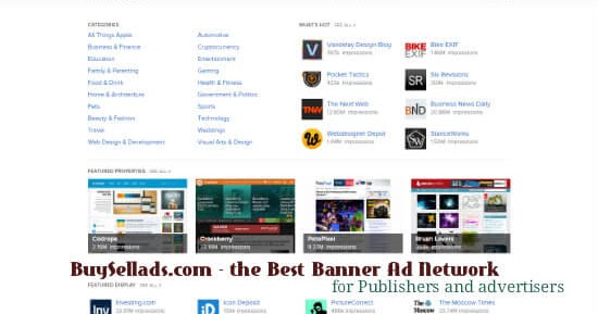 what makes buysellads com a top banner ad network for publishers and advertisers
