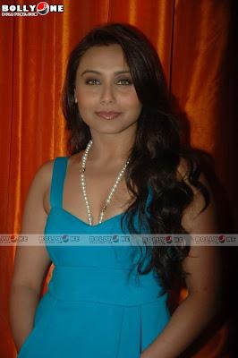 Rani Mukherjee Sexy in Blue 3