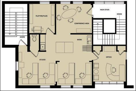Foundation dezin decor residential commercial layouts for Small home office floor plans