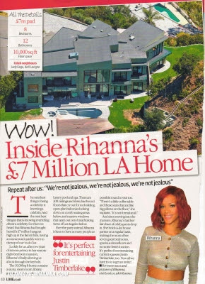A Look Inside Rihanna's Bel Air Home