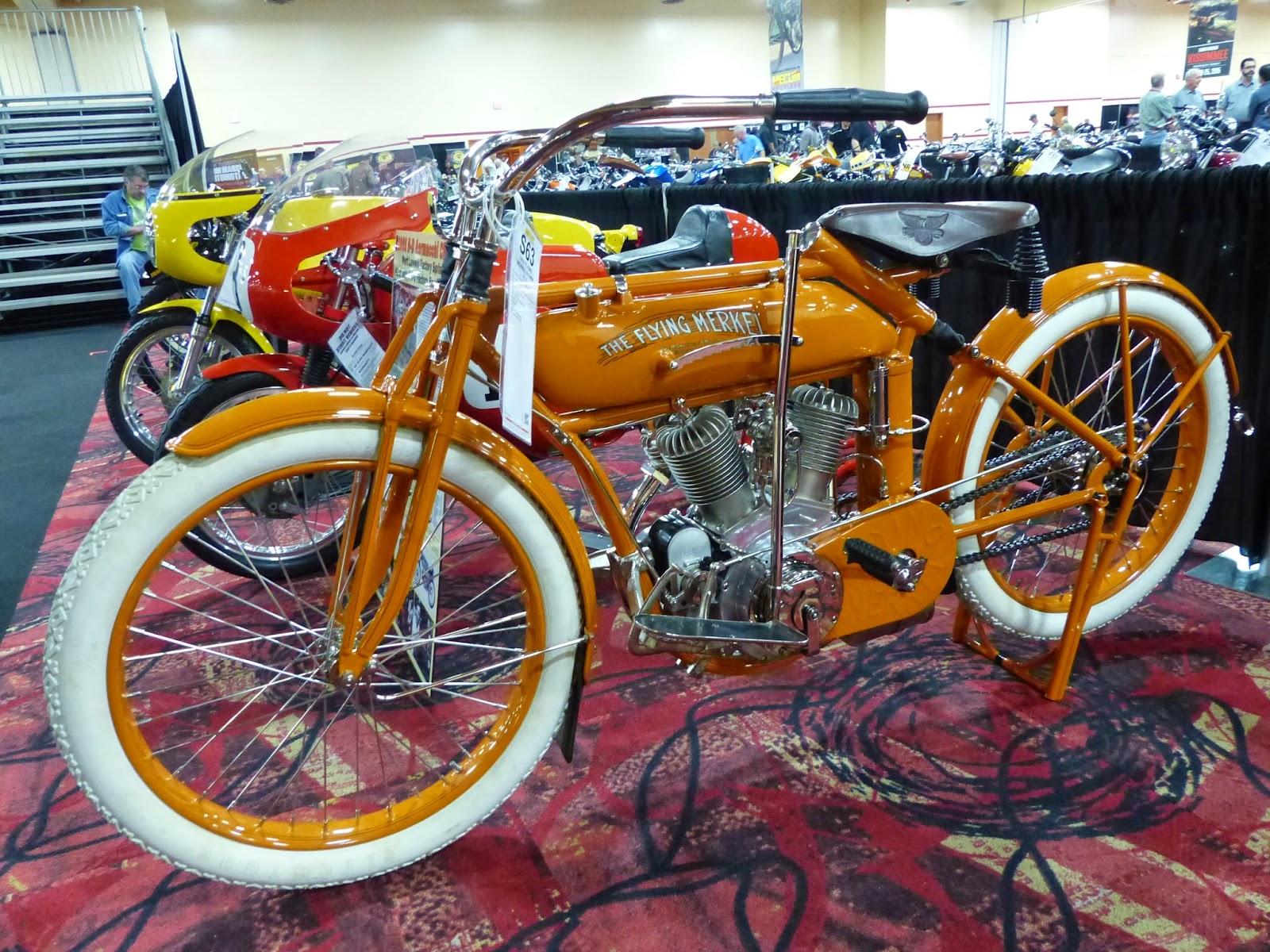 1915 Flying Merkel for sale at the 2015 Mecum Las Vegas Motorcycle Auction f85904b79