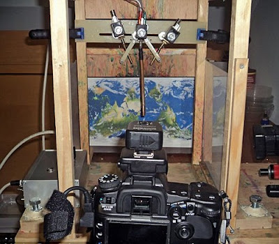 Imagenes en una gota de agua - laboratorio de captura