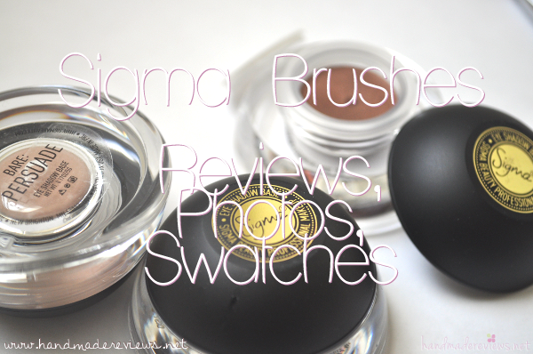 Sigma Brushes Reviews and Photos