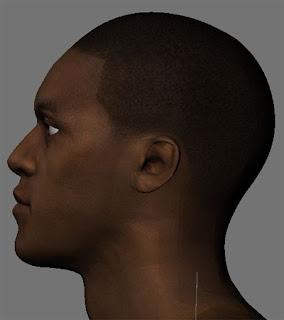 NBA 2K13 Rajon Rondo HD Cyber Face Mods