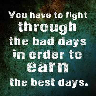 Motivational Quotes: Best Days - Kshitij yelkar