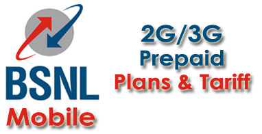 BSNL Prepaid Mobile Plans - BSNL Online Recharge