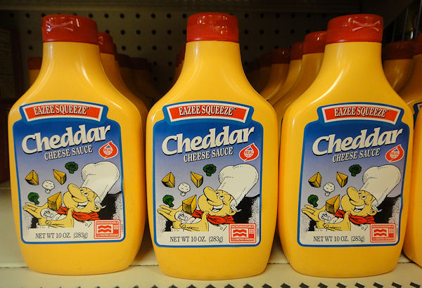 Old fashioned foods squeeze cheese 54