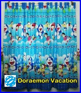 Gorden Karakter Anak, Gambar Gorden Bagus, Gorden Motif Kartun, Gorden Doraemon
