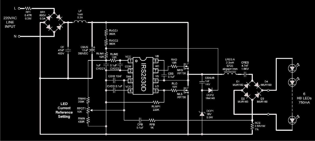 Make This Mains Transformerless Led Controller Circuit