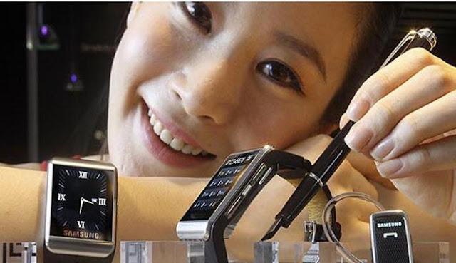 Tak Lama Lagi Samsung Luncurkan Jam Tangan Pintar