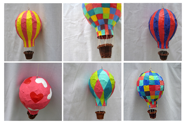 Kalo make art bespoke wedding invitation designs hot air for Paper mache art and craft