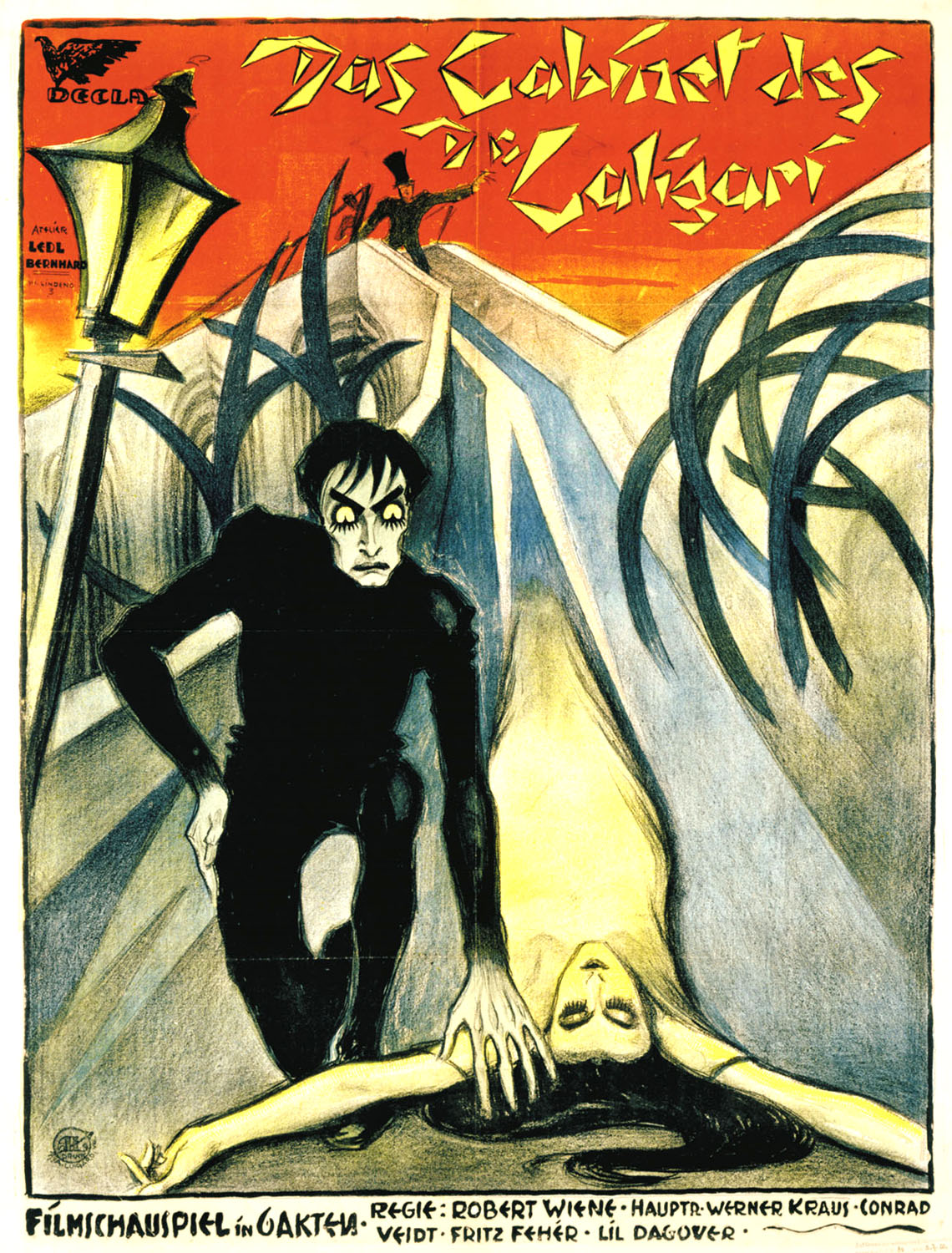Movie posters das cabinet des dr caligari 1920 - The cabinet of dr caligari 1920 full movie ...