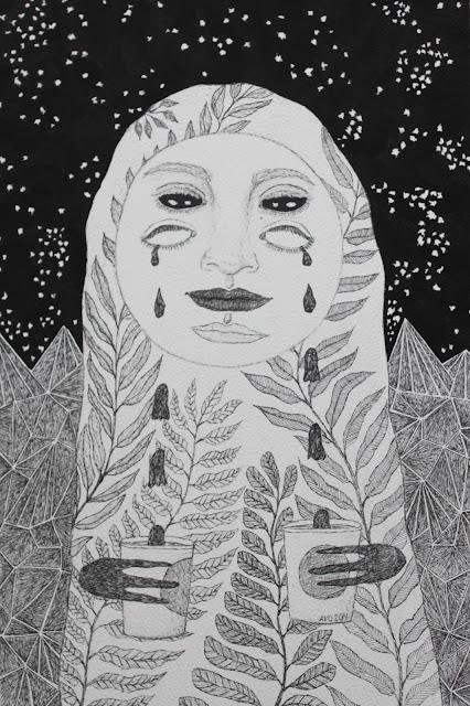 Anja Villumsen Oxager illustration