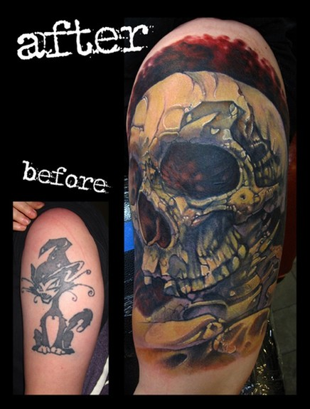 Cover Up Tattoo Pictures Before And After Tattoos
