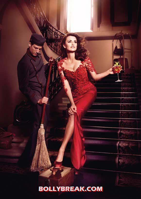 Penelope Cruz for Campari - (6) - Penelope Cruz sexy Campari Calendar