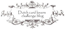 Dutch Card Lovers Challenge Blog.