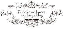 Dutch Card Lovers Challenge Blog.