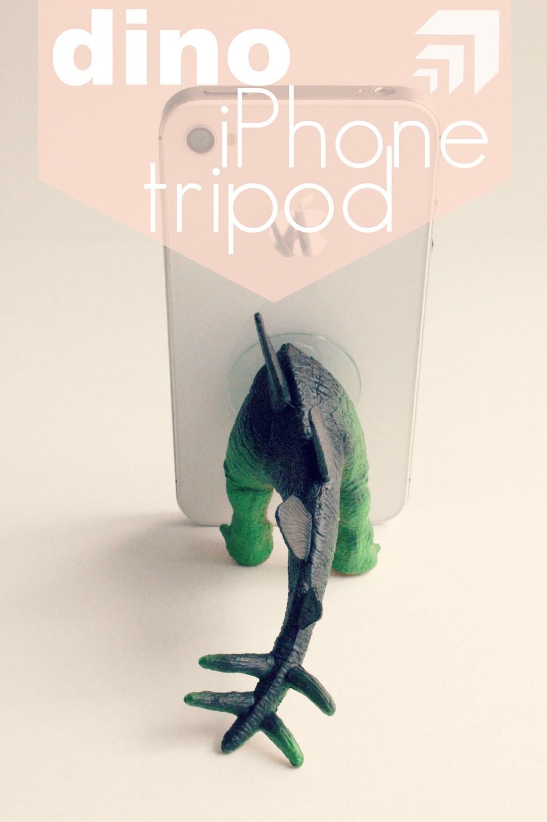 MAKE: Dino iPhone Tripod