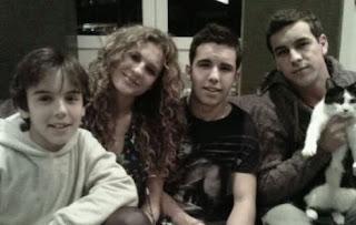 Hermanos Casas, actores, Daniel, Sheila